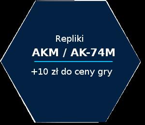 repliki akm ak-74m 10 zl do ceny gry