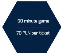 90 minute game 70 pln per ticket