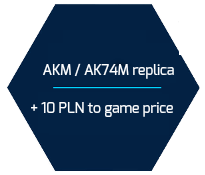 akm ak74m replica 10 pln to game price